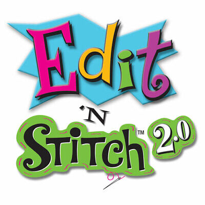 $63.20 • Buy Edit 'N Stitch 2.0 By Amazing Designs Machine Embroidery Software