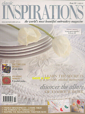 £8.50 • Buy Embroidery Sewing Patterns Classic Inspirations Magazine Issue 55 Beaded Poppy +
