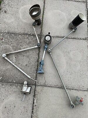£130 • Buy 3 Vintage Industrial Type Anglepoise Lamps For Restoration E.d.l , Macho , M.g.