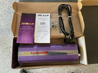 £53.96 • Buy Apollo Horticulture Hydroponic Digital Ballast APL1000 Dimmable