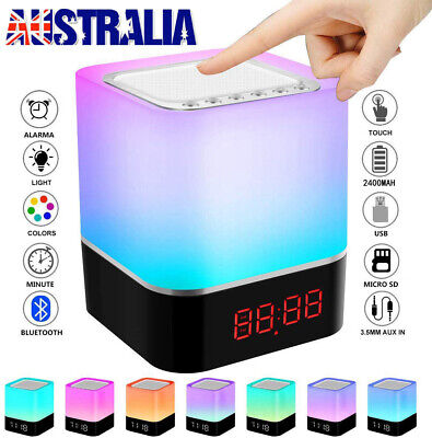 AU26.90 • Buy Touch LED Night Light Bedside Lamp Table Desk Mood USB Dimmable Bedroom Home New