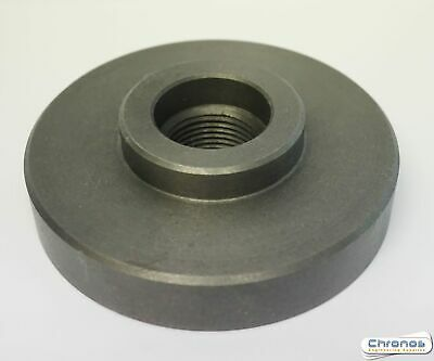 """£29.95 • Buy 4"""" / 100 MM Chuck Backplate Threaded To Suit Myford Lathe 1 1/8 X 12 Tpi"""