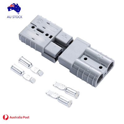 AU12.50 • Buy 50AMP Anderson Style Plug Connectors  With 2 Contacts(10PCS)