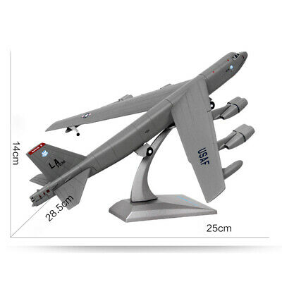 £21.51 • Buy 1:200 Diecast Alloy American B-52 Bomber Aircraft Plane Model Collectibles Gift