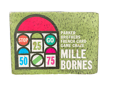 $9.99 • Buy 1964 Mille Bornes Parker Brothers French Card Game