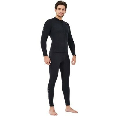 $33.04 • Buy Long Sleeve Front Zip Sports For Scuba Diving Surf Swimming Snorkel Suit
