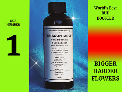 £12.50 • Buy 200ml Triacontanol Natural PGR BOOSTER Hydroponics Nutrients