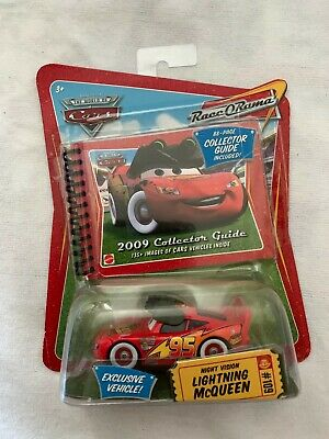 £20.35 • Buy Disney CARS Night Vision LIGHTING MCQUEEN #109 Collectors Guide 2009 Exclusive