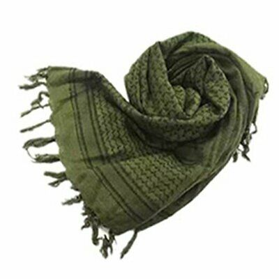 $16.69 • Buy  100% Cotton Military Shemagh Tactical Desert Head Neck Scarf Arab # Army Green