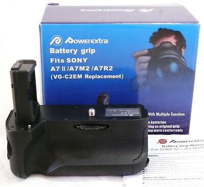 $ CDN95.21 • Buy Powerextra Battery Grip For Sony A7 II, Replaces Sony VG-C2EM NEW #31846