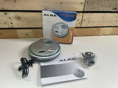 £14.95 • Buy ALBA PCD220XI Personal CD Player With Headphones & Manual   Tested Fully Working
