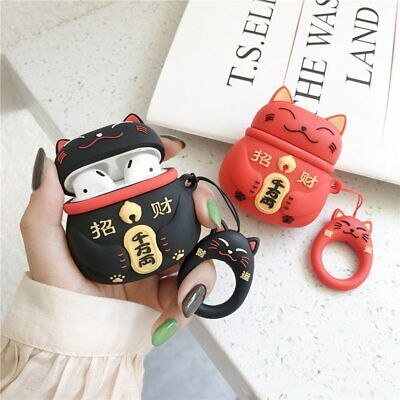 $ CDN2.52 • Buy Lucky Cat Silicone Earphone Case For Airpods Pro 2 1 Silicone Protective Cover