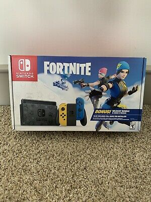 $459.99 • Buy Nintendo Switch Fortnite Wildcat Console Bundle - Brand New - CODE INCLUDED