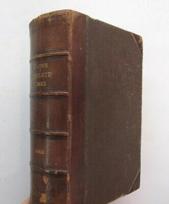 £43.27 • Buy English Romantic Poetry Works Lord Byron Suppressed Poems 1V Complete Illus 1860