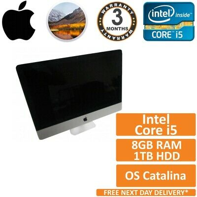 £209.95 • Buy Apple IMac 21.5  A1418 Late 2012 Core I5-3330s 2.7GHz 8GB RAM 1TB HDD Catalina A