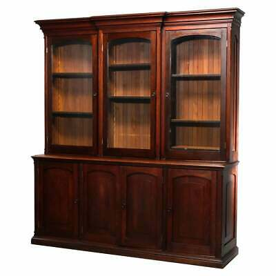 $2850 • Buy Antique Country Store Two-Piece Mahogany Cabinet, Circa 1900