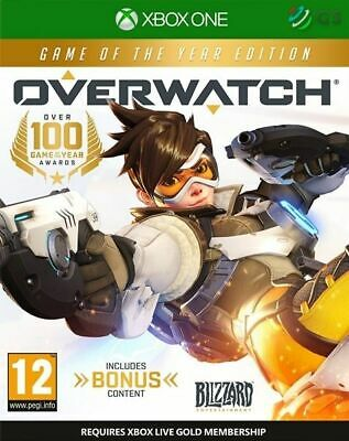 AU41.36 • Buy Overwatch Game Of The Year Edition Xbox One * NEW SEALED PAL *
