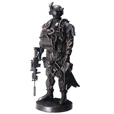 $79.98 • Buy Navy Seal Soldier In Uniform Statue Figurine United States Military