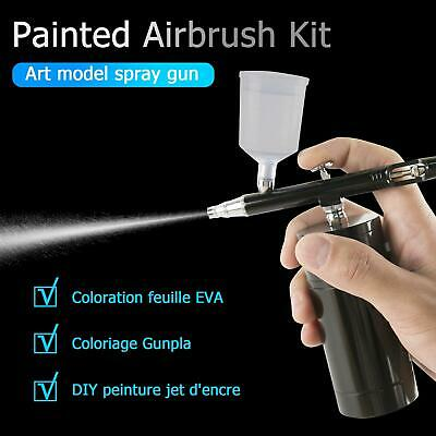 £33.49 • Buy Rechargeable Handheld Dual-Action Mini Air Compressor Airbrush With 0.3mm Nozzle