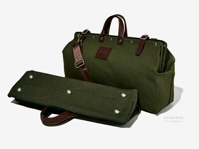 $31.32 • Buy Canvas Weekender Bag Line Of Trade (Olive) Free Shipping