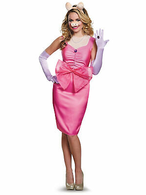 £39.68 • Buy Miss Piggy Deluxe Disney The Muppets Female Pig Pink Dress Up Womens Costume