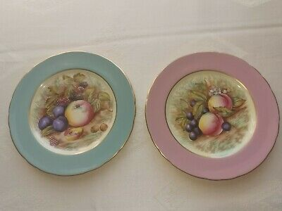 £13.50 • Buy Aynsley Orchard Side Plates X 2