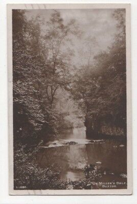 £2.75 • Buy In Millers Dale Buxton Derbyshire 1925 RP Postcard 793b