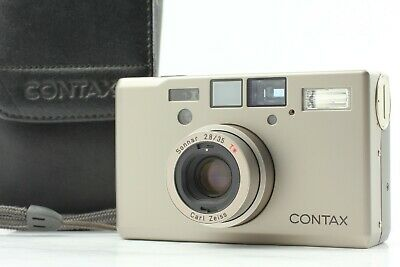 $ CDN2959.07 • Buy [Top Mint Case] Contax T3 Double Teeth 35mm Point&Shoot Film Camera From Japan