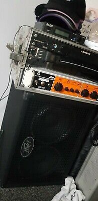 £700 • Buy Orange OB1-500 Bass Amp With Flight Case And Peavey 410 + 210 Stack