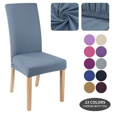 £2.66 • Buy Universal Stretch Elastic Dining Chair Covers Slipcover Party Room Seat Decor Th