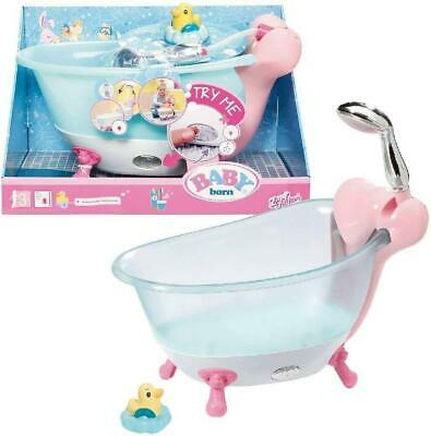 £32.99 • Buy Baby Born Wash Time Bath Tub For Dolls With Lights And Sounds