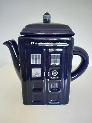 £25 • Buy DR182 BBC Doctor Who Tardis Ceramic Teapot With Sculpted Detail