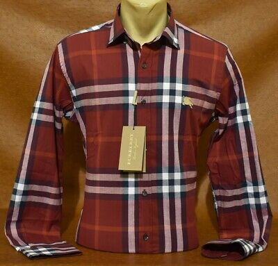 $57.90 • Buy Brand New With Tags Men's BURBERRY Long Sleeve Shirt