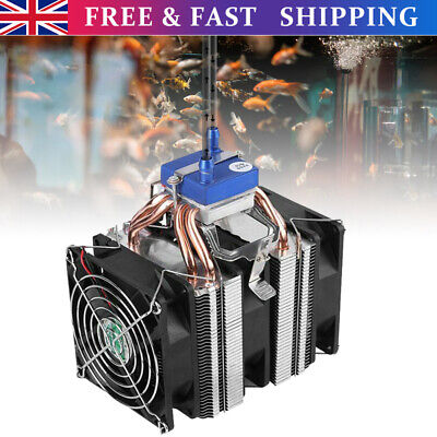 £46.69 • Buy Thermoelectric Cooler Aquarium Water Chiller Shrimp Cooling System Refrigeration