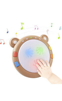 £6.90 • Buy Light Up Drum Baby Musical Instruments Sensory Baby Toy
