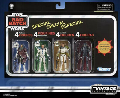 $ CDN156.73 • Buy Star Wars The Vintage Collection The Bad Batch Special 4 PACK (AMAZON PRESALE)