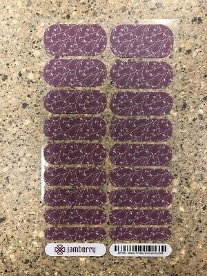 AU2.72 • Buy Jamberry Nail Wrap - Black Friday Exclusive