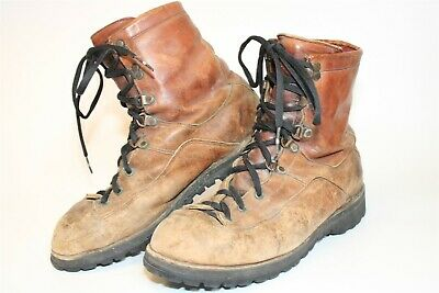 $5.50 • Buy DISTRESSED Danner Mens Size 11 D Leather Mid Lace Up Work Boots 6042