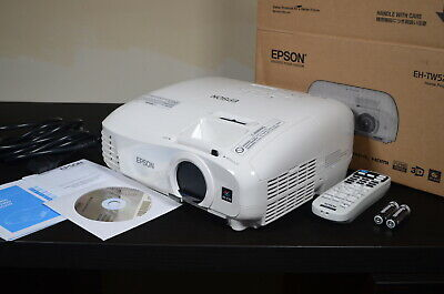 £300 • Buy Epson EH-TW5210 1080p Full HD 3D Home Cinema Projector
