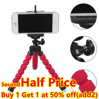 £3.96 • Buy Universal Mobile Phones Tripod Stand Grip-Mount For Camera Mobile Phone Holder