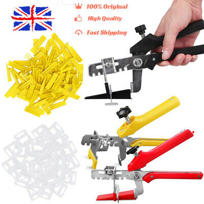 £7.66 • Buy UK✅ 400 X Tile Leveling Spacer System Tool Clips Wedges Flooring Lippage Plier✅