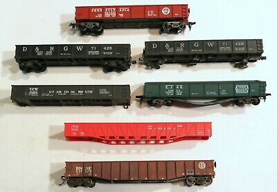 $ CDN6.92 • Buy Train Wreck Lot Of 7 HO Scale Gondola Cars / Missing Parts / For Restoration