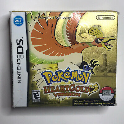 $68.88 • Buy Pokemon HeartGold Version DS CARDBOARD BOX ONLY No Game Or Pokewalker Authentic