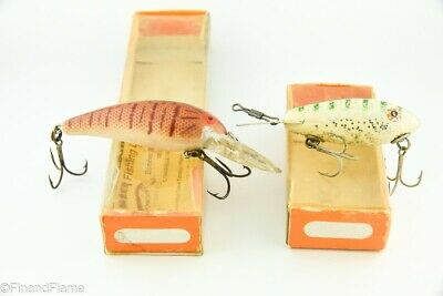 $ CDN1.25 • Buy Vintage Bomber Antique Fishing Lure Lot Of 2 In Boxes TJ11