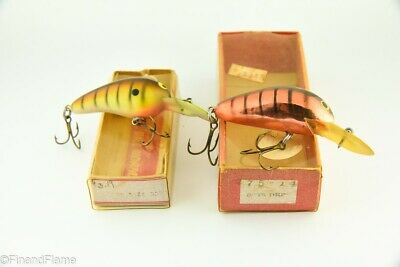$ CDN1.25 • Buy Vintage Bill Norman Antique Fishing Lure Lot Of 2 In Boxes TJ9