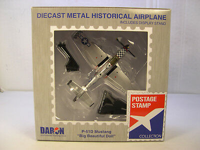 $18.99 • Buy Wwii P51d Mustang Big Beautiful Doll Daron 1:100 Scale Diecast Display Airplane