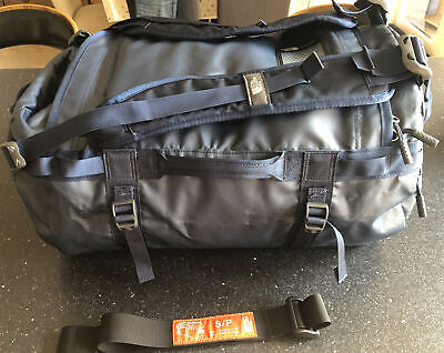 """£31 • Buy North Face Base Camp Duffle Bag Small Navy 21""""x13""""x13"""" 50L Capacity Carry On"""