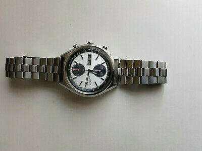 $ CDN1207.24 • Buy Seiko Panda 6138-8020 Automatic Chronograph 21Jewels Cal 6138B In Exc Condition