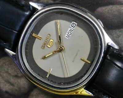 $ CDN1.31 • Buy Vintage Seiko 5 Automatic Cal.6309 Japan Day/date Men's Used Watch Working 15216