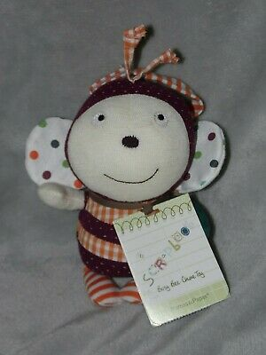 £18.45 • Buy Mamas And Papas Busy Bee Soft Toy Chime Comforter Doudou Scrapbook Girl Rattle